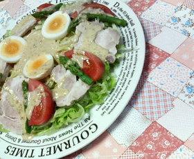 ✿洋風❀ハーブ薫るポークの✿冷やし麺