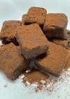 豆腐の生チョコ