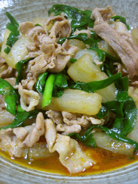 ☆大根と豚肉の韓国風煮♪