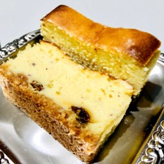 簡単♡さつまいものベイクドチーズケーキ