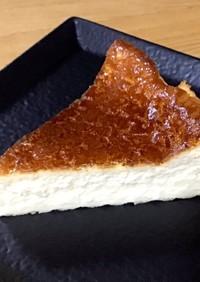 フープロでタルト無しベイクドチーズケーキ