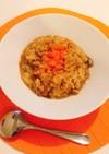 オニオンスープ簡単アレンジご飯リゾット風