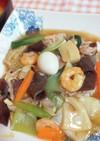 鍋キューブて中華料理屋の本格中華丼