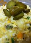 簡単絶品・卵とハムとチーズのポテトサラダ