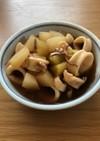 簡単、大根とヤリイカの煮物。