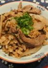 時短レシピ!牛肉とごぼうの炊き込みご飯