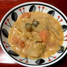 鉄鍋使用 健康 鶏肉トマト豆乳シチュー