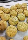 簡単クッキー(見ためはメロンパン)