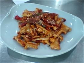 """韓国で習った韓国料理""""オジンオポックム"""""""