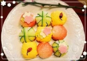 【手まり寿司】ひな祭り、お花見にも