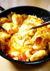 柔らか鶏むね肉スキレットチーズタッカルビ