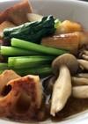 ゴロゴロ野菜の味噌バタースープ