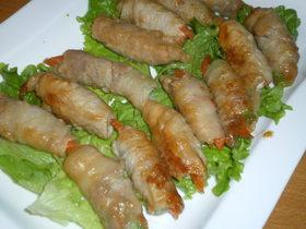 定番☆豚肉の野菜巻き