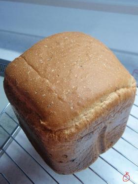 HBで!バジル&チーズ食パン