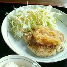 絶品!和風豆腐ハンバーグ