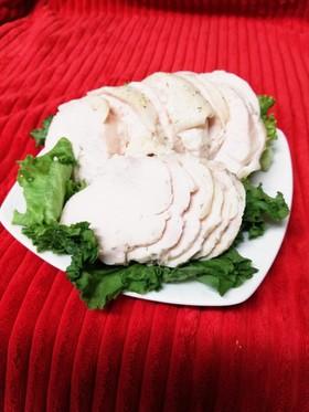 ⭐鶏胸肉de鶏ハム(サラダチキン)袋ゆで