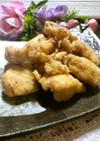 *塩麹と昆布ダシで鶏ムネ肉の唐揚げ*