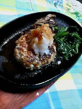 豆腐de和風ハンバーグ♪おろし&ポン酢♪