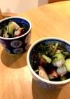 ど定番惣菜タコときゅうりのお酢の物
