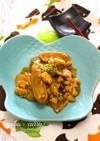 ごぼうと鶏そぼろのカレー炒め。