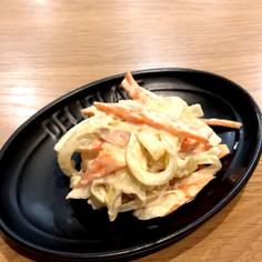 レンジで簡単!人参玉ねぎのツナマヨサラダ