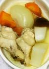 鶏手羽元と根菜で洋風おでん?和風ポトフ?