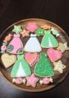 お礼のアイシングクッキー