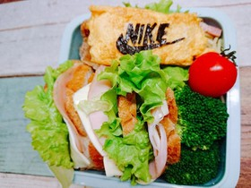 NIKE キャラ弁 サンドイッチ♪♪