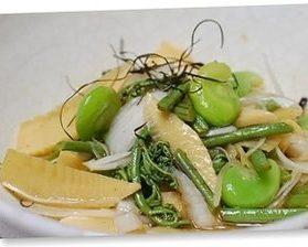 タケノコの若草サラダ