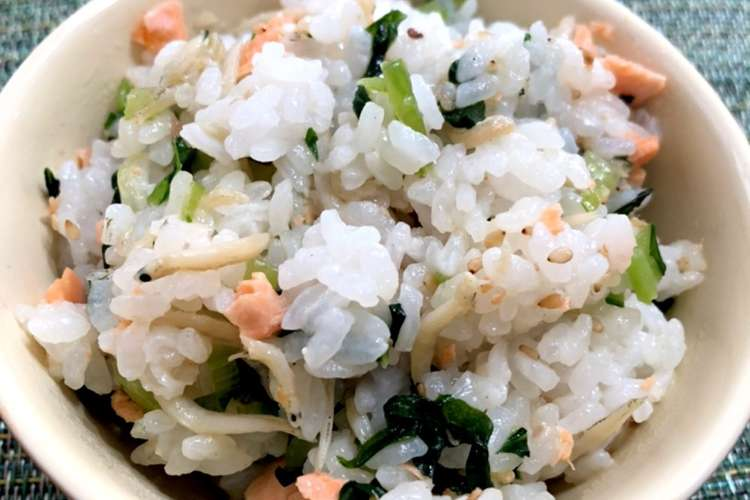 簡単 混ぜ ご飯 鶏ごぼう飯(混ぜごはん)のレシピ/作り方:白ごはん.com