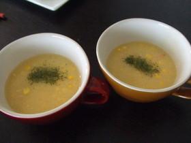 我が家の中華♪コーンスープ