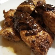 鶏むねの味噌粕漬け焼き