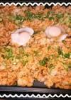 ホットプレートで簡単山菜ビビンバ