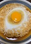 半熟卵のチキンラーメン