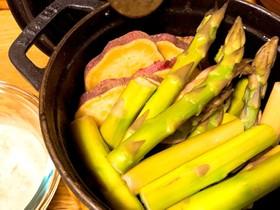 STAUB cocotte 簡単温野菜