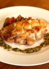鶏モモ肉のソテー  ラタトゥイユ添え