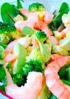 デパ地下✨アボカドと海老のグリーンサラダ