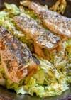 オイルサーディンとキャベツのオーブン焼き