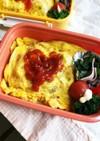 お弁当に✨簡単卵乗っけ和風オムライス