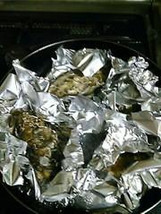ぷりっぷり殻つき牡蠣の写真
