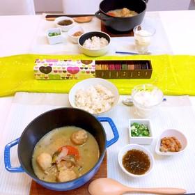 2月18日 献立 鶏団子スープ