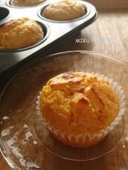 オレンジとクリームチーズのマフィンの写真