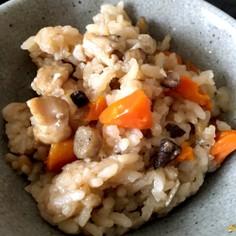 母の混ぜご飯(炊き込みご飯)