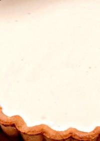 レアチーズタルト(市販のタルト生地使用)