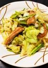かぼすが香る♩豚トロとキャベツの炒め物