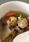 簡単☆鶏つくねと野菜のスープ