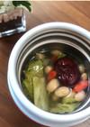 クコ&ナツメ 煎り大豆とレタスのスープ