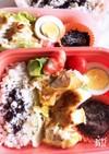 お弁当に✨簡単メカジキのピカタ