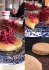ヴィーガングルテンフリーお食事パンケーキ