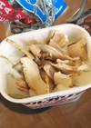 流行りの乾物ヨーグルト♪椎茸&煮干し♪